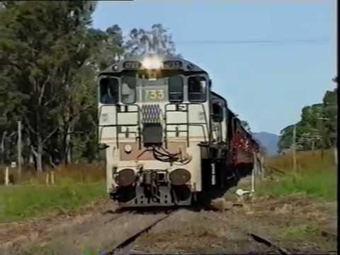 Train trip to Boyne Valley 1992