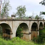 Humphery Bridge from other end (concrete construct rail bridge on Boyne Burnett Rail Trail)