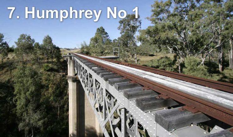 Railway bridge across Humphrey Number 1