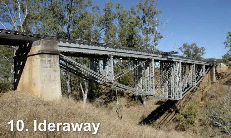 Railway bridge at Ideraway