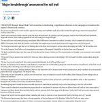 rail trail feasibility funding newspaper article