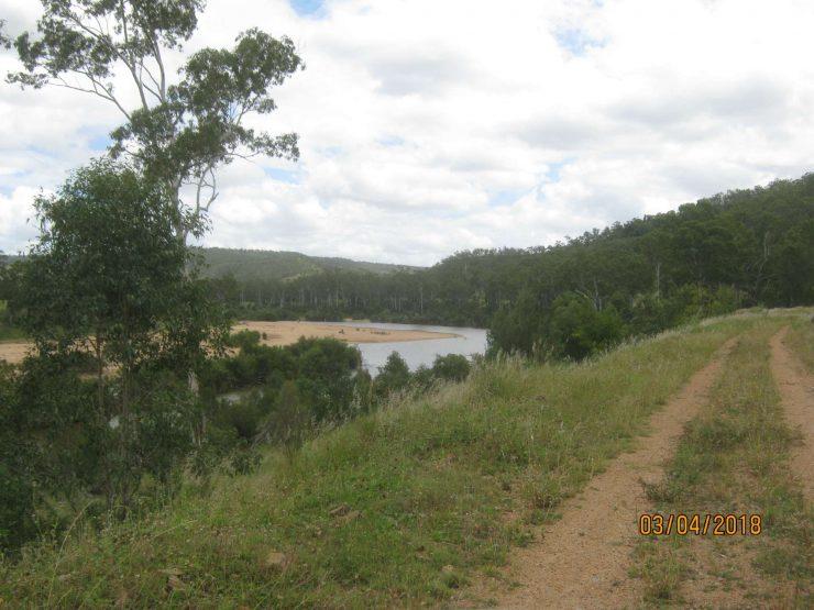 BuRRT Mt Debateable & view across river
