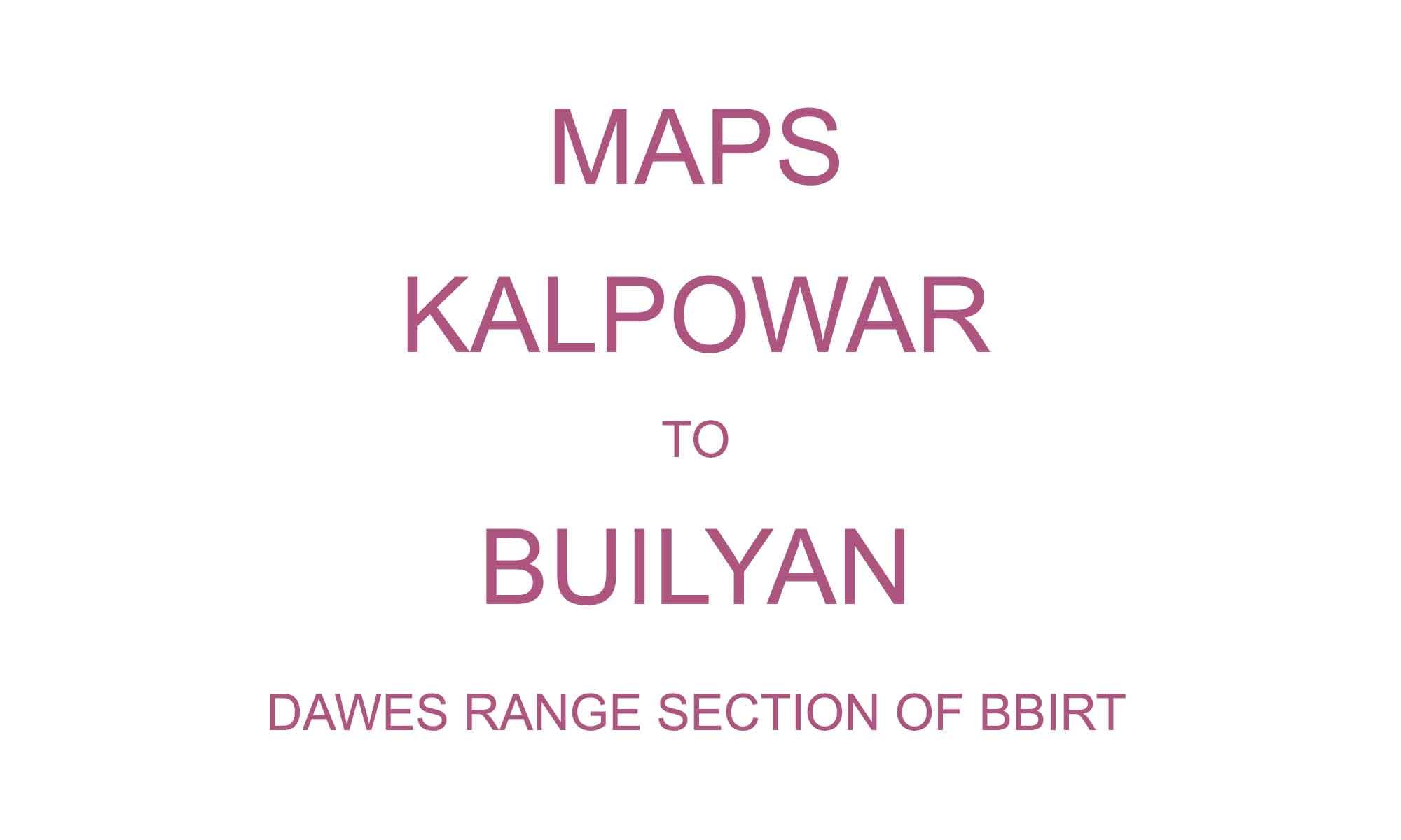dawes-range-maps
